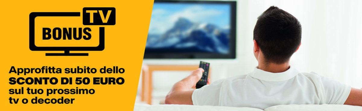 Bonus TV: come funziona?